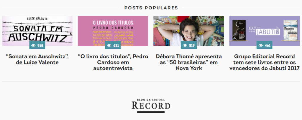 Sonata top 1 do blog Record
